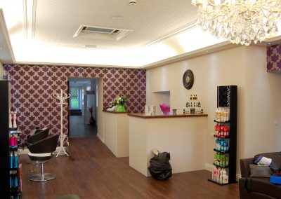 Salon refurbishment by Aspect Chartered Surveyors